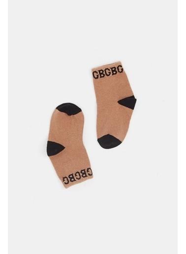 BG Baby Erkek Bebek Renkli 3Lü Çorap 20Fw0Bg1041 Renkli